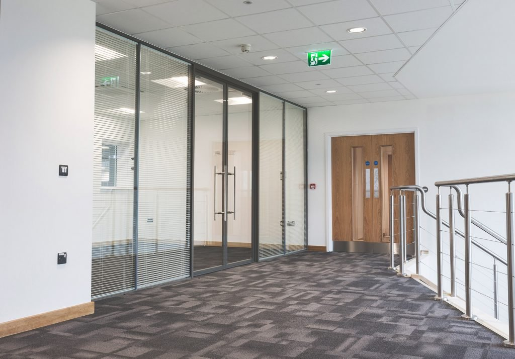Specialists in glass partitions